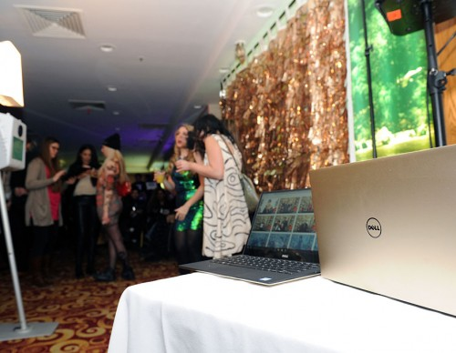 Dell XPS Gold At Opening Ceremony NYFW 2016