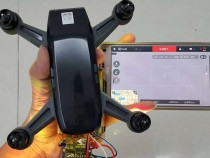 DJI Spark Leak Shows Tiny Selfie Drone Version Of Mavic Pro