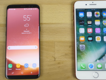 Samsung Galaxy S8 vs iPhone 7 Plus Speed Test