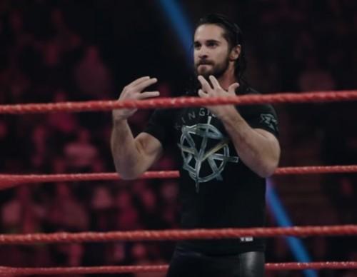Hard-hitting slow-motion video of Seth Rollins & Samoa Joe's brawl.