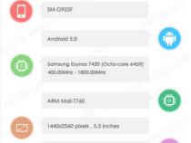 Samsung Galaxy S6 (SM-G925F) AnTuTu benchmark listing