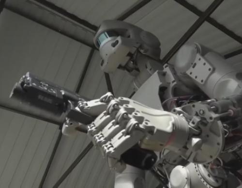 Here Comes Russia's Terminator Robot
