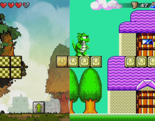 Retro Remake Of Wonder Boy: The Dragon's Trap Is On Switch