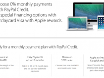 Apple enables PayPal Credit installment option for online store purchases