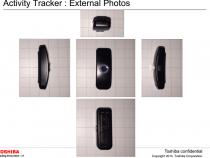Toshiba Activity Tracker at the FCC