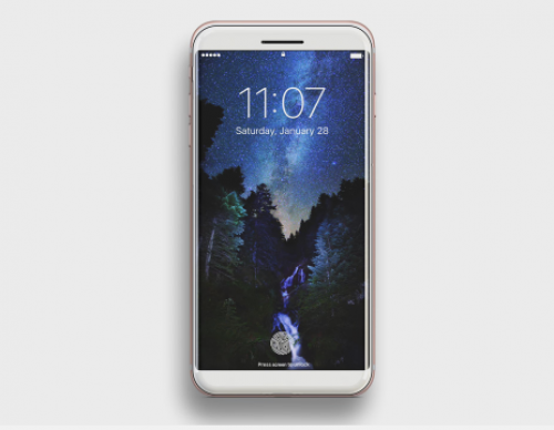 Check Out This Beautiful White Ceramic iPhone 8