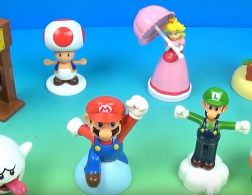 Super Mario Happy Meal Toys Now Available In The US