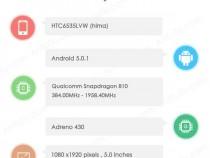 HTC Hima AnTuTu benchmark listing