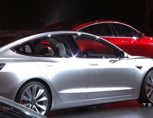 A Look At The Final Tesla Model 3; Private Viewing Takes Places In June