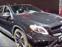 Fall In Love With Driving As Mercedes Rocks Its AMG GLA45 To The Road