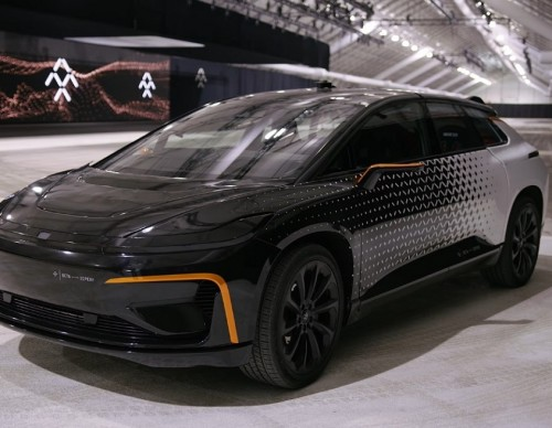 Faraday Future FF91 has a new home in Hanford, California.