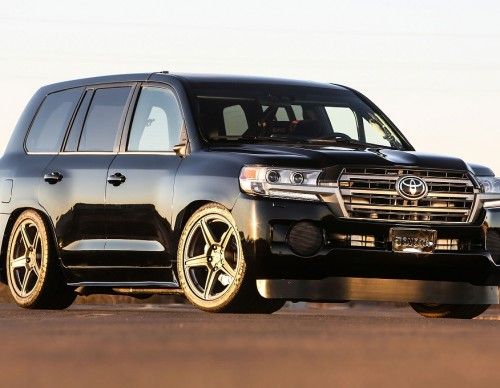 Toyota Takes World's Fastest SUV Title With New 2000-HP Land Speed Cruiser