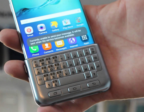 How To Use A Physical Keyboard Cover On Samsung Galaxy S8 Plus