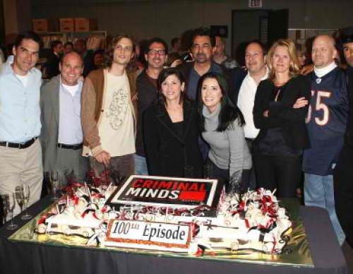 100th Episode Celebration For CBS' 'Criminal Minds'