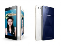 OPPO R1C smartphone with sapphire glass back