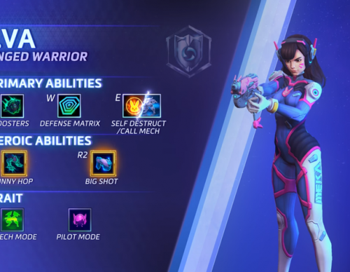 'Overwatch' D.Va Officially Joins 'Heroes Of The Storm', Details Here