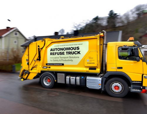 Volvo Gets Dirty With Its Autonomous Garbage Truck