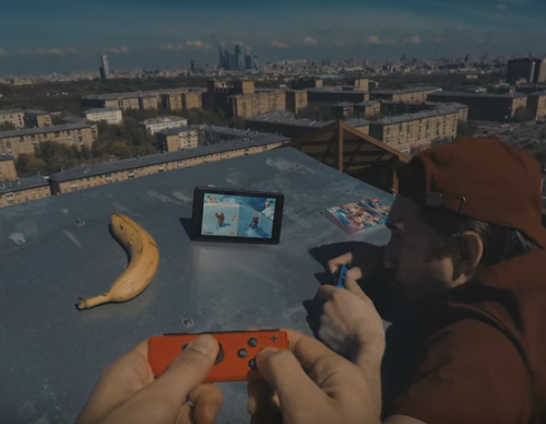 Here's A Skydiving Video Ad That Nintendo Failed To Make For Switch