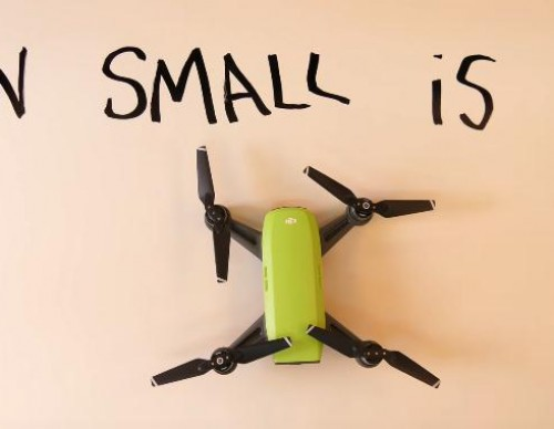 DJI Spark Is The Smallest, Smart Drone