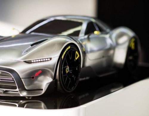 Mercedes-AMG Reveals Project One Hypercar's F1 Spec Powertrain