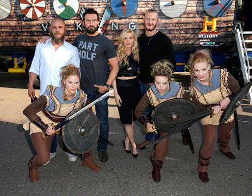 HISTORY's 'Vikings' - Comic-Con International 2015