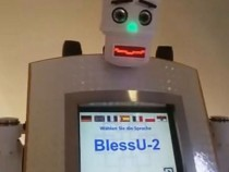 Be Blessed By This Robot Priest in Germany