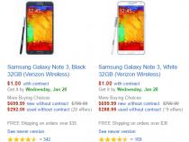 Verizon Samsung Galaxy Note 3 deal on Amazon
