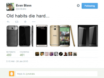 Evleaks reveals purported HTC One M9, M9 Plus models (right)