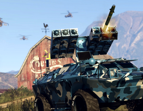 'GTA Online': Devs Share More Gunrunning Details