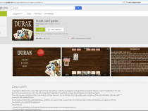Durak card game on Google Play infected by malware