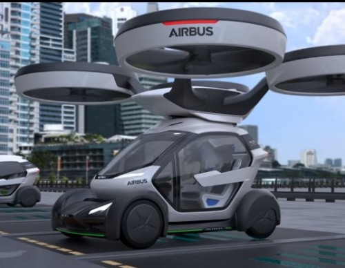 Airbus Flying Taxis Will Beat Traffic And They're Awesome