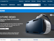 Samsung Gear VR Best Buy store demo