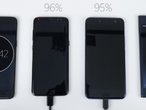 OnePlus 5 vs Galaxy S8 vs HTC U11 vs Xperia XZ Premium: Charging Speed Battle