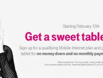 T-Mobile 'Tablet on Us' Valentine's Day weekend promotional offer