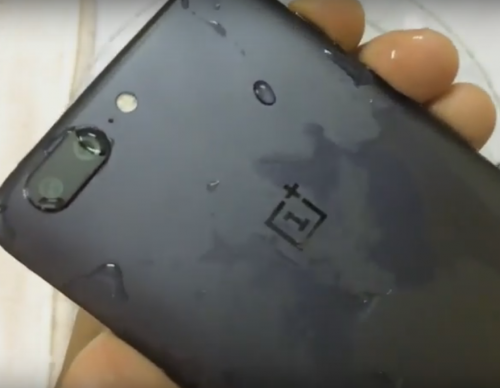 OnePlus 5 Might Survive Water, Jelly Effect Leads To Natural Scrolling