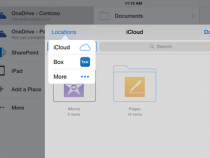 iCloud storage integration for Microsoft Office iOS apps