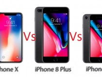 iPhone X vs iPhone 8 vs iPhone 8 Plus: Features and Specs Comparison