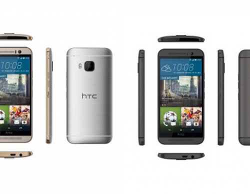 Purported HTC One M9 press renders