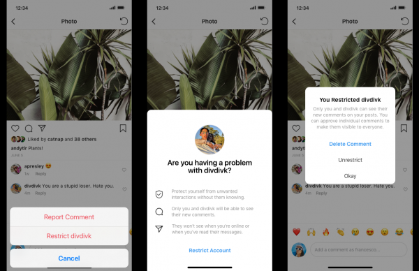 Instagram Launches New Feature to Fight Off Cyberbullying
