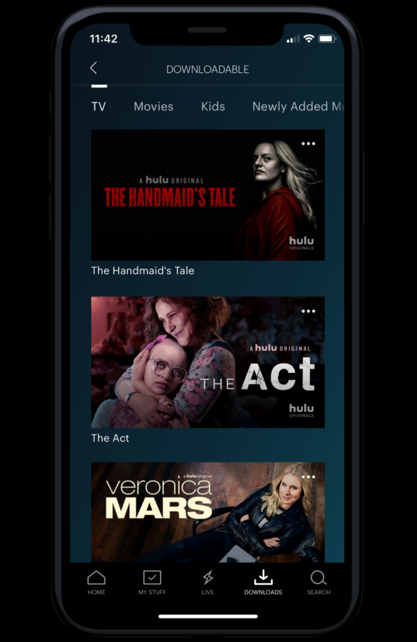 Hulu Finally Supports Downloading and Offline Viewing