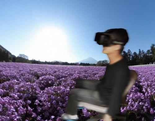 image of virtual walking