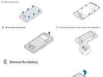 Samsung Galaxy S6 battery removal guide - User Manual