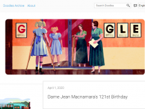 RIP Dame Jean Macnamara: Google Doodle Honors the Polio Doctor in a Creative Way Despite April Fools' Day