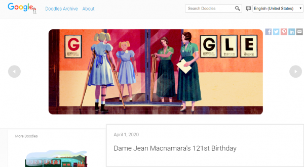 RIP Dame Jean Macnamara: Google Doodle Honors the Polio Doctor in a Creative Way Despite April Fools' Day