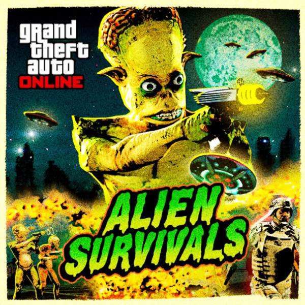 Aliens Are Here! Grand Theft Auto Online Unleashes Rockstar Games' Nightmares Through A New Survival Series and Peyote