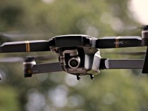 Drone captures inmates volunteering