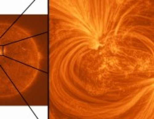 University of Central Lancashire (UCLan) researchers unveiled highest-ever resolution images of the Sun