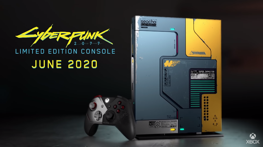 Cyberpunk 2077 Xbox One X Limited Edition Releases on June with Xbox Series X Coming This September