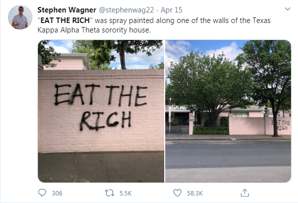 "Sorority Sisters Who Partied on Spring Break Recieve ""Eat the Rich"" Social Media Backlash: Parents Along with Matthew McConaughery Adress Hatered"