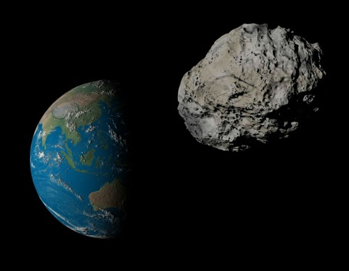 Asteroids to fly-by Earth within the year